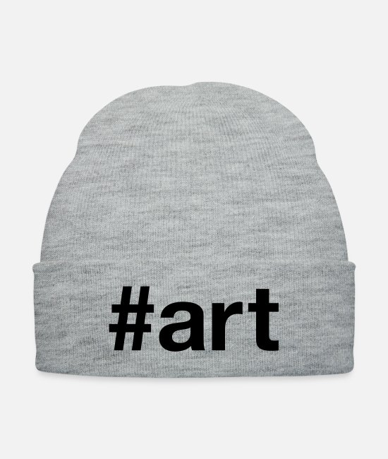 Artist Caps & Hats - ART - Knit Cap heather gray