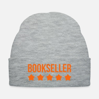 Bookseller - Reading - Culture - Library - Knit Cap