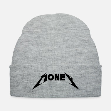Font Money in Metal Font - Knit Cap
