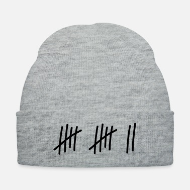 Wedding Day 12 lines // 12 times // birthday // gift // sport - Knit Cap