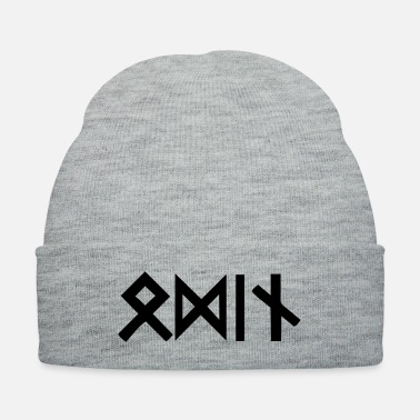 Mythology Odin Runes - Knit Cap