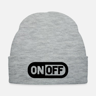 Off Switch off on off power - Knit Cap
