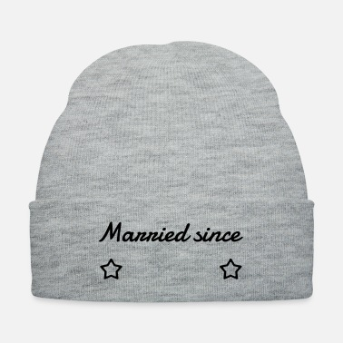 Marriage Marriage Mariage Wedding Anniversary Custom It - Knit Cap