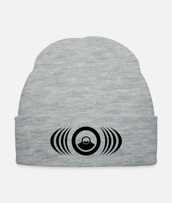 23 Caps & Hats - 230069 speaker - Knit Cap heather gray