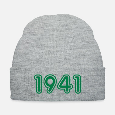 Birth 1941, Numbers, Year, Year Of Birth - Knit Cap