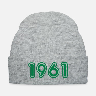Year Of Birth 1961, Numbers, Year, Year Of Birth - Knit Cap