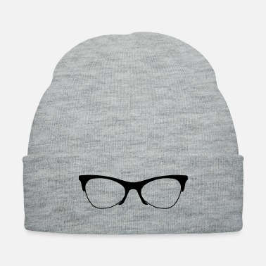Clever Glasses like a nerd - Knit Cap