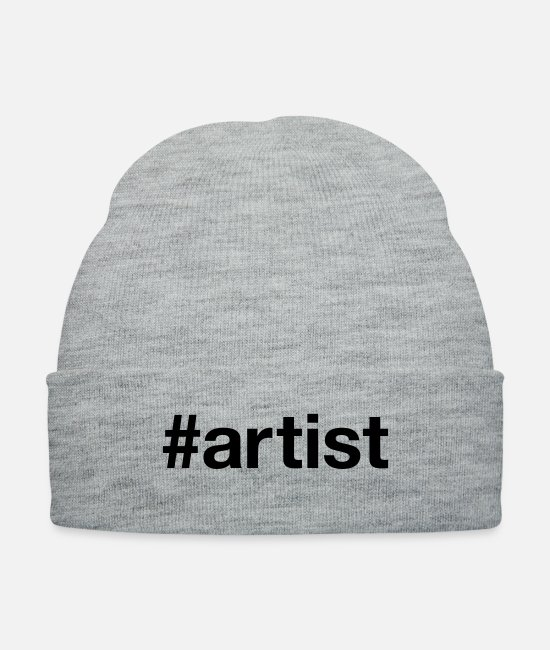 Artist Caps & Hats - ARTIST - Knit Cap heather gray