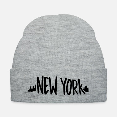 Tourist new york typography - Knit Cap