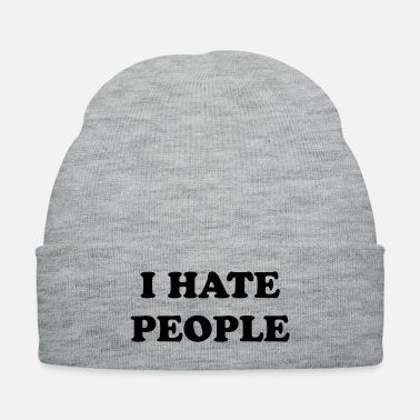 Antisocial i hate people - Knit Cap