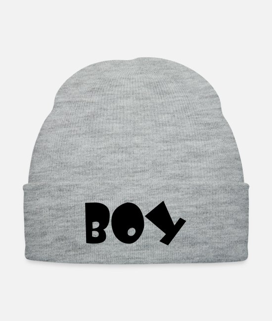 Young Caps & Hats - boy - Knit Cap heather gray