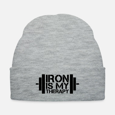 Therapy Iron Is My Therapy - Knit Cap
