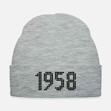 Year Of Birth 1958, Numbers, Year, Year Of Birth - Knit Cap