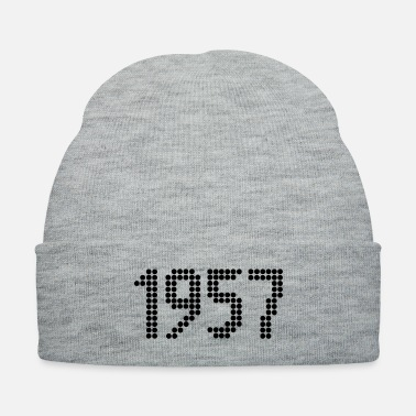 1957 1957, Numbers, Year, Year Of Birth - Knit Cap