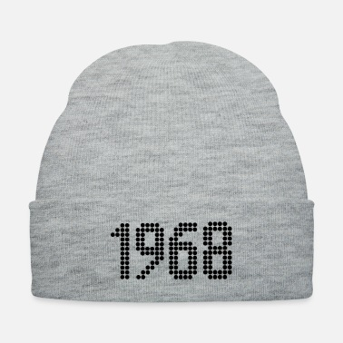 Year Of Birth 1968, Numbers, Year, Year Of Birth - Knit Cap