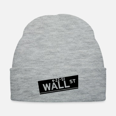 Wall wall st - Knit Cap