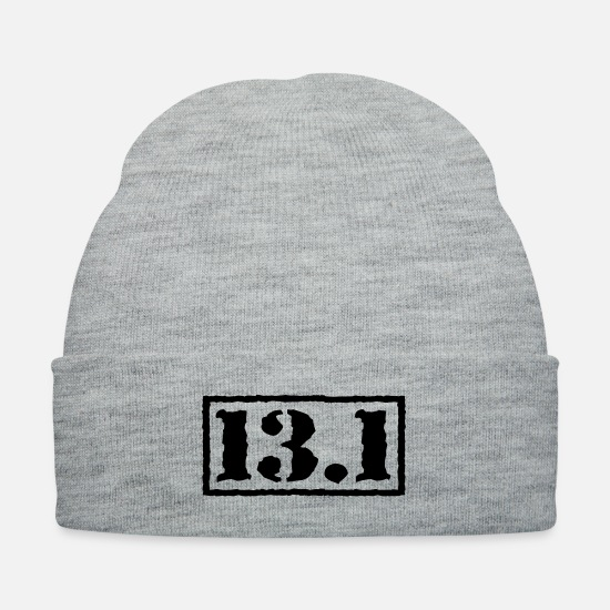 Race Caps - Top Secret 13.1 - Knit Cap heather gray