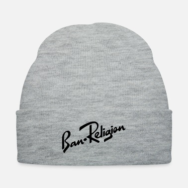 Shade Ban Religion by Tai's Tees - Knit Cap
