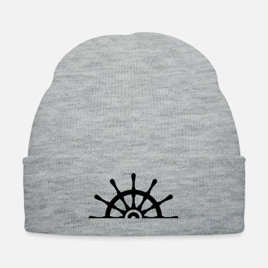 Half Ship Steering Wheel - Knit Cap