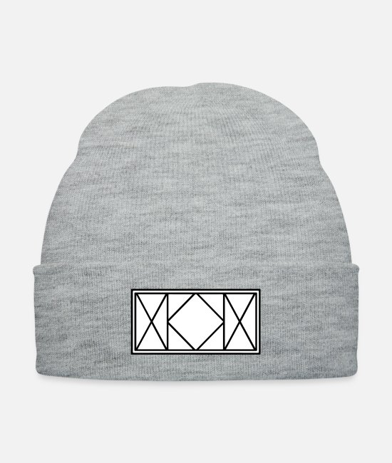 Design Caps & Hats - Hunter x Hunter Killua - Knit Cap heather gray