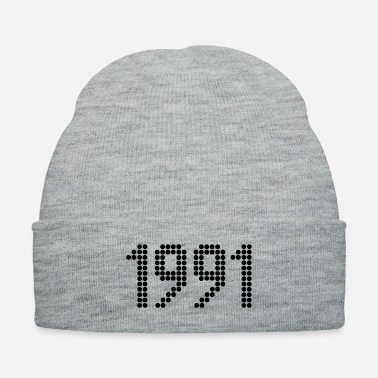 Year Of Birth 1991, Numbers, Year, Year Of Birth - Knit Cap