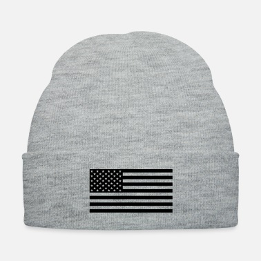 Law Enforcement American Flag Subdued Tactical - Knit Cap