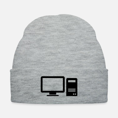 Computer Science computer monitor display - Knit Cap