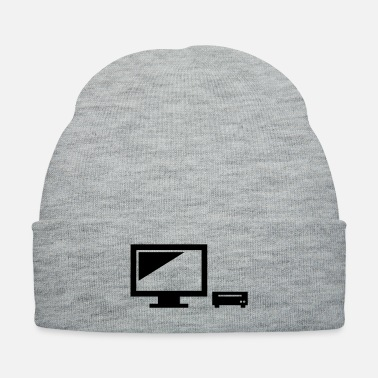 Pc PC monitor laptop present - Knit Cap