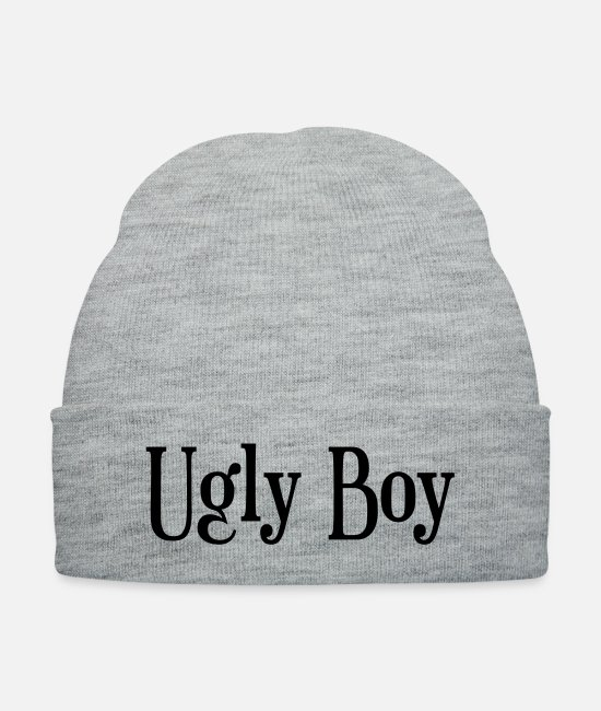 Ugly Boy Caps & Hats - Ugly Boy - Knit Cap heather gray