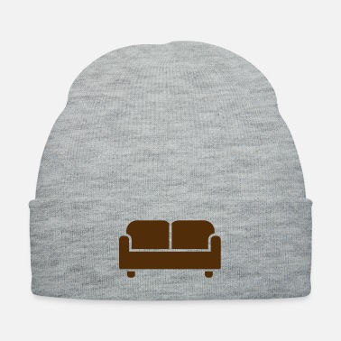 Recreate couch sofa relax free time - Knit Cap