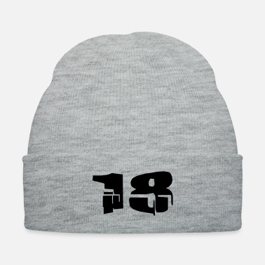 Age 18-eighteen age - Knit Cap