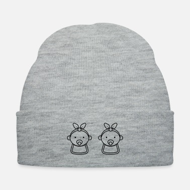 Kindergarten Baby twin girls - Knit Cap