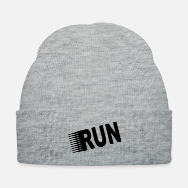 Marathon Run Inspirational WOD Running And Marathon - Knit Cap