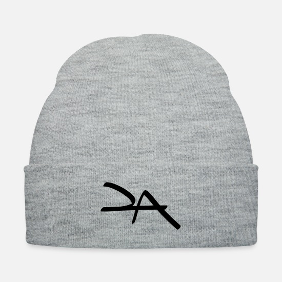 Art Caps - la - Knit Cap heather gray