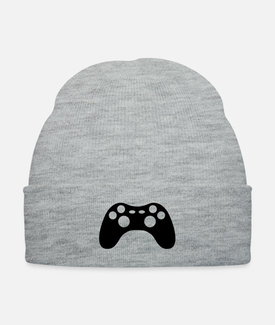Ballet Dancer Caps & Hats - gaming-console - Knit Cap heather gray