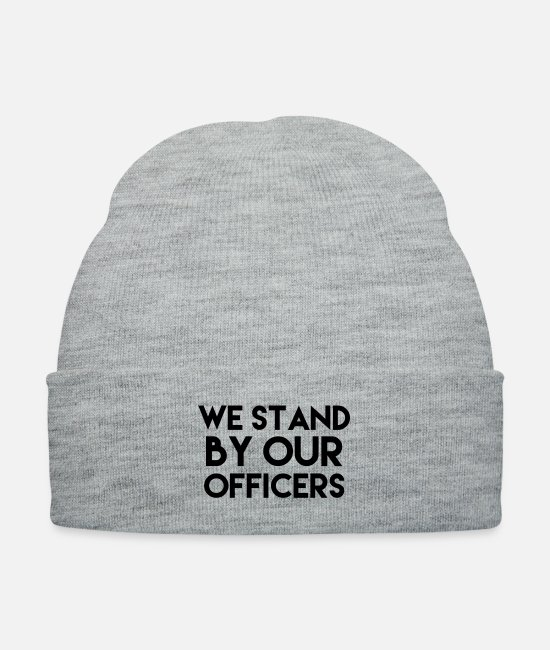 Troops Caps & Hats - Police - Knit Cap heather gray