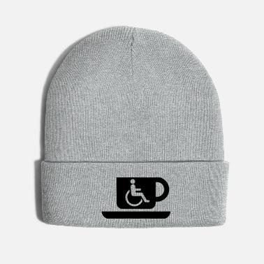 Disabled Coffee for the disabled - Knit Cap