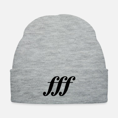 Iron Metal fff - fortississimo - Knit Cap