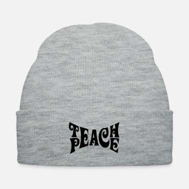 Teaching Teach Peace - Knit Cap