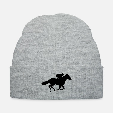 Horse Racing Race Horse - Knit Cap