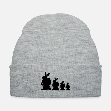 Easter Bunny Four Easter Bunnies - Knit Cap