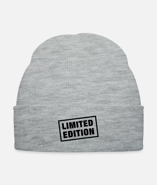 Exemplary Caps & Hats - limited_edition__f1 - Knit Cap heather gray