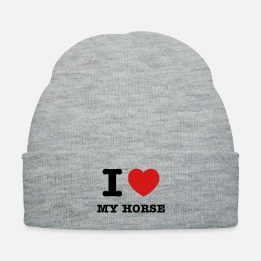 Love I love my horse - Knit Cap