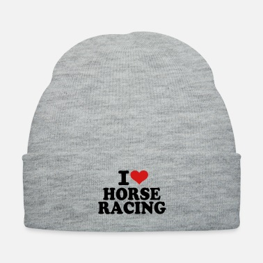 Horse Racing I love Horse Racing - Knit Cap
