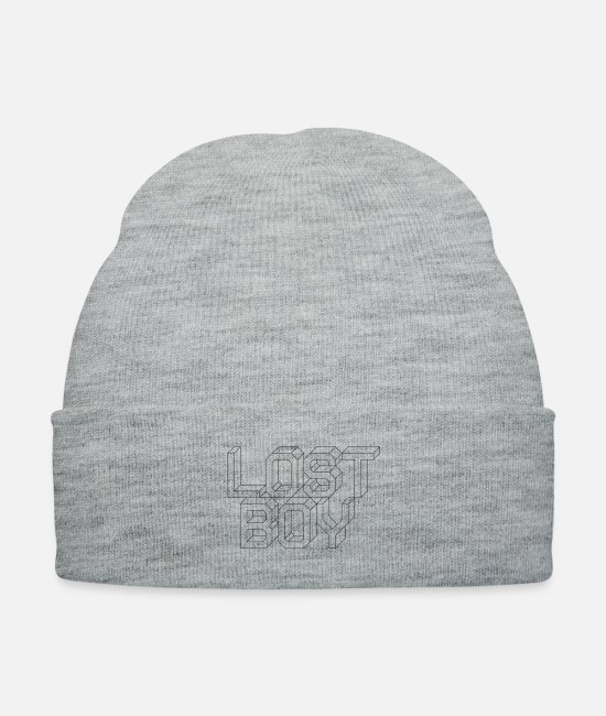 Lost Caps & Hats - Lost Boy - Knit Cap heather gray