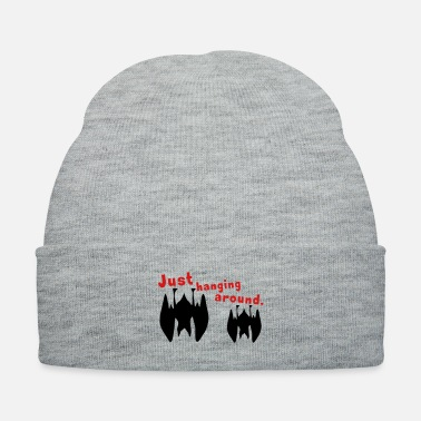 Lazy just hanging around - Knit Cap