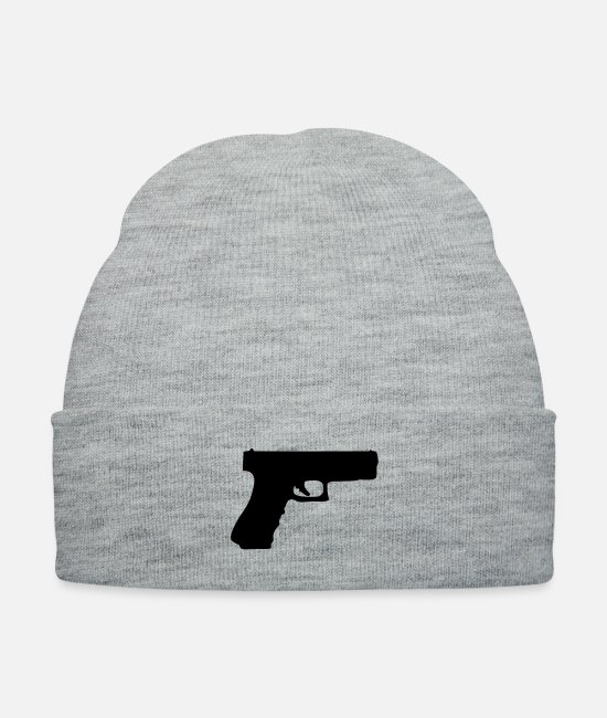 Call Caps & Hats - Glock - Knit Cap heather gray