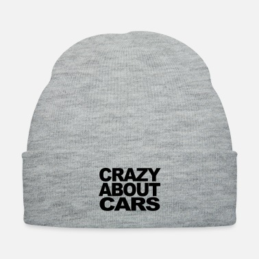 Motor Race Crazy about motor cars t-shirt - Knit Cap