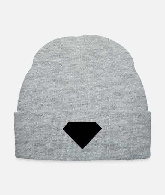 Jewellery Caps & Hats - Retro Diamond - Knit Cap heather gray