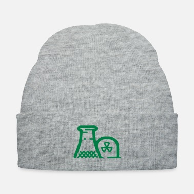 Nuclear Power Nuclear power plant - Knit Cap